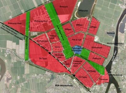 Zwolle combineert geluidswal met nooddijk