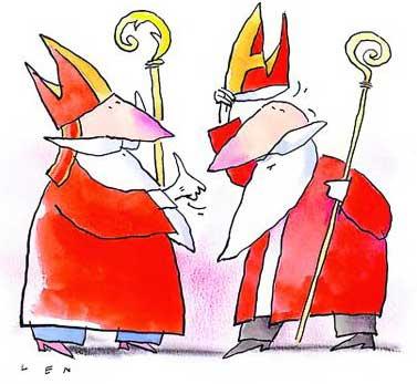 Sinterklaas geeft het goede voorbeeld