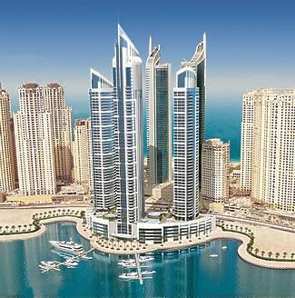 Grote complexen Hochtief in Dubai