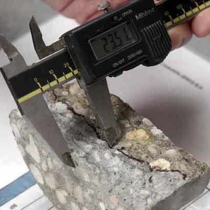 Onzekerheid over indringen chloride in beton