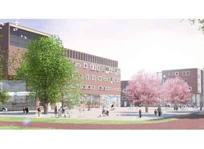 Nieuwbouw voor campus Universiteit Wageningen