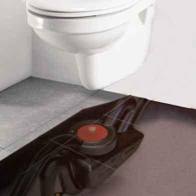 Toiletten besparen water met hevelende boosters