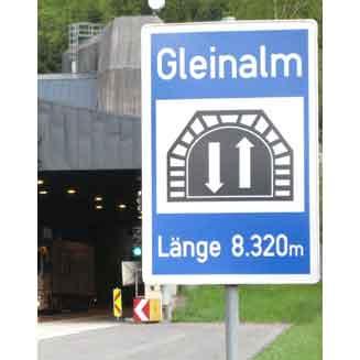 Explosieve tunnelbouw van BAM in Steiermark