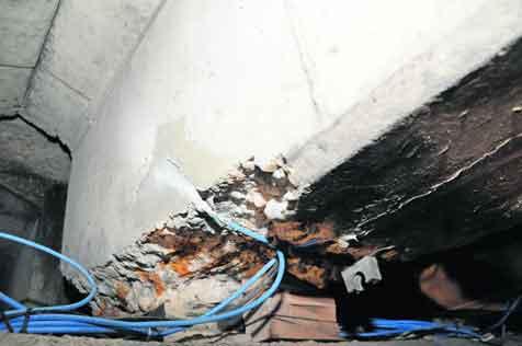 Elektriciteit stopt roesten viaductliggers