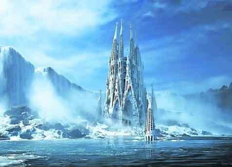 Versie toren Sagrada Familia nieuw doel voor ijsbouwers