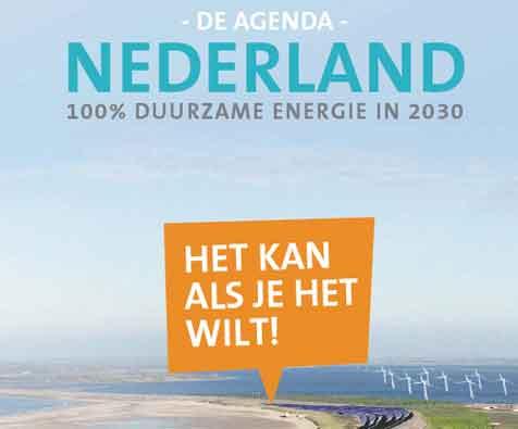 Urgenda wil duurzame energie in 2030