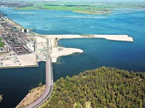 22 hectare nieuw land voor Centrumeiland