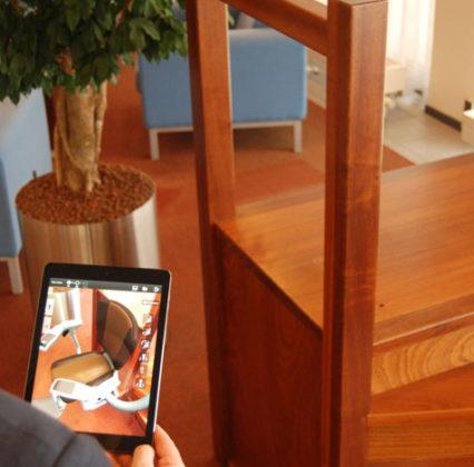 App laat zien hoe keuze van traplift uitpakt