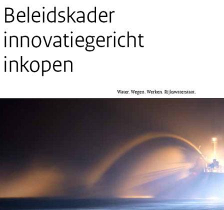 Rijkswaterstaat gaat tien innovaties per jaar inkopen