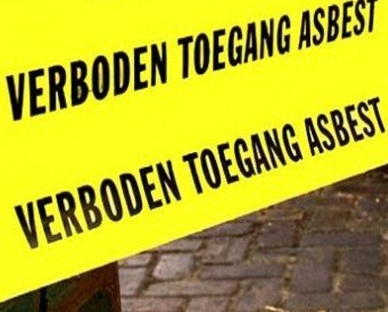 Boete voor verwijdering rioolbuizen met asbest