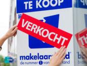 Woningverkopen naar record in derde kwartaal