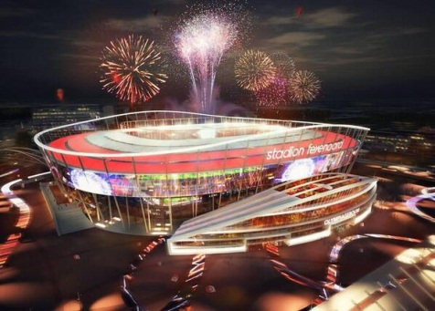 In januari besluit over stadion-plan van BAM