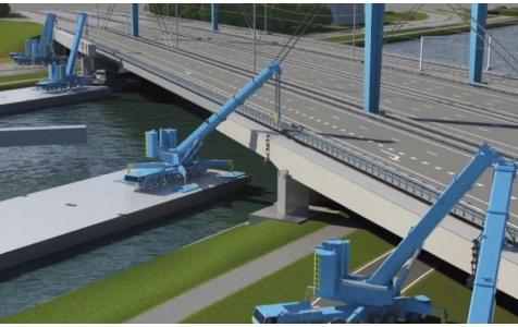 Noodscenario's Galecopperbrug liggen klaar