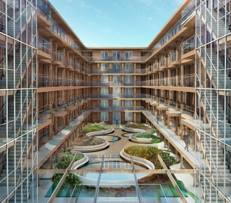 De Nijs start bouw op Stadionplein Amsterdam