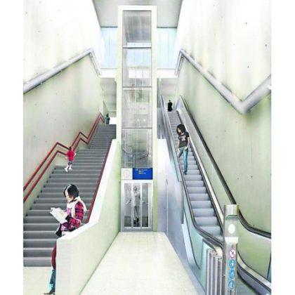 Stations metro Oostlijn in één contract opgeknapt
