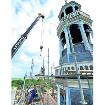 Groot onderhoud kerktoren