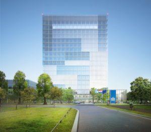De nieuwbouw van de labs voor het RIVM en het CBG.