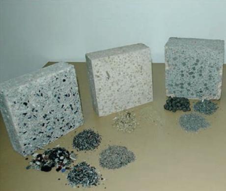 Prestatiegericht samenstellen van beton op basis van model