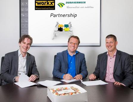Dura Vermeer en Workx gaan samenwerking aan