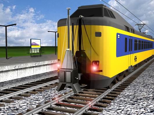 Slim systeem voor inspectie spoorwissels