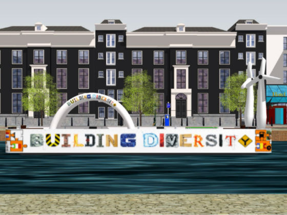 Visual Building Diversity-boot Gaypride