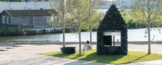 Piepklein huisje markeert ontwikkeling in 3D printtechniek