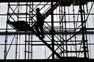 Steiger van 12 meter afgebroken en gestolen