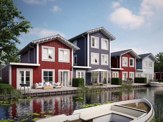 Scandinavisch wonen in Dorpshaven Aalsmeer