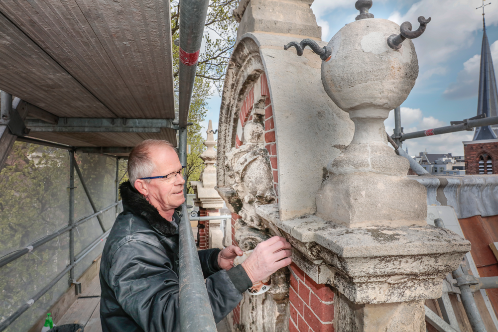 Begijnhof Amsterdam gerestaureerd
