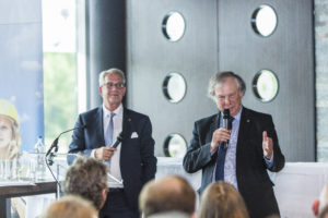 Daan Stuit en Wim van der Maas