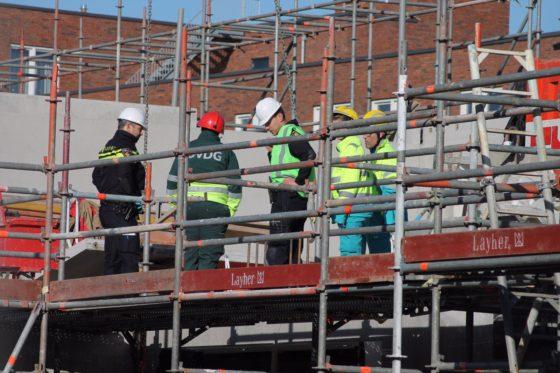 Bouwvakker komt om bij ongeval op bouwplaats Groningen
