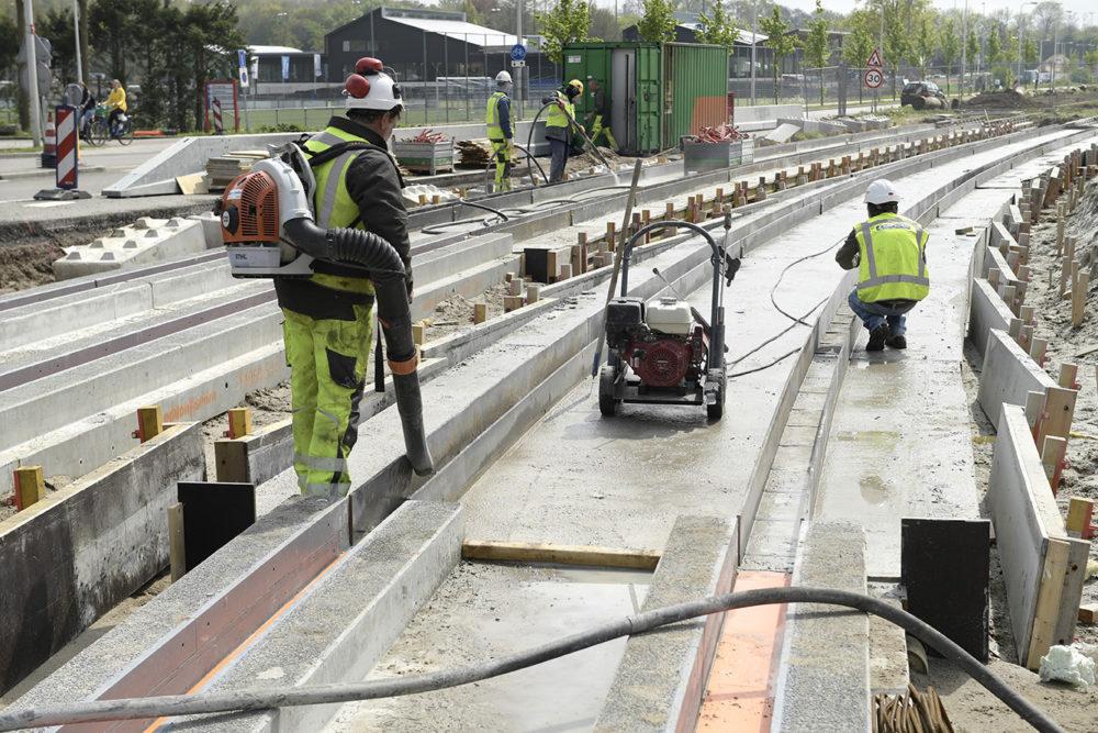 Nieuwe trambaan