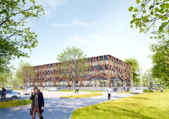 Iconisch schoolgebouw voor Graafschap College Doetinchem