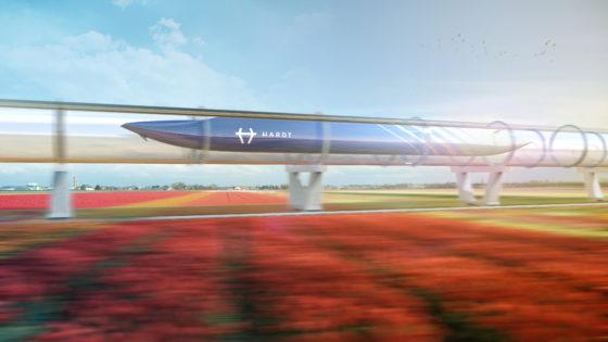 BAM werkt mee met supersnelle Hyperloop