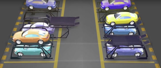 Autolift verdubbelt capaciteit parkeerplek