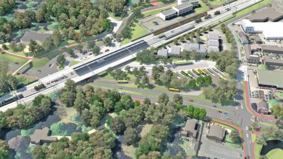 Ingrijpende aanpak Stationsgebied Driebergen-Zeist