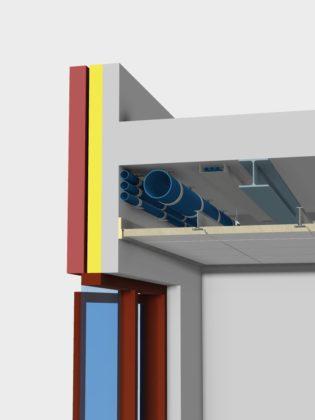 Faay en Promat maken plafond brandbestendig