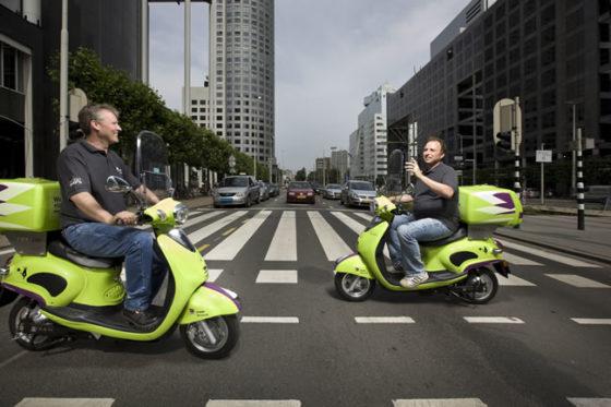 Elektrische scooters doen hun intrede bij Croon Elektrotechniek