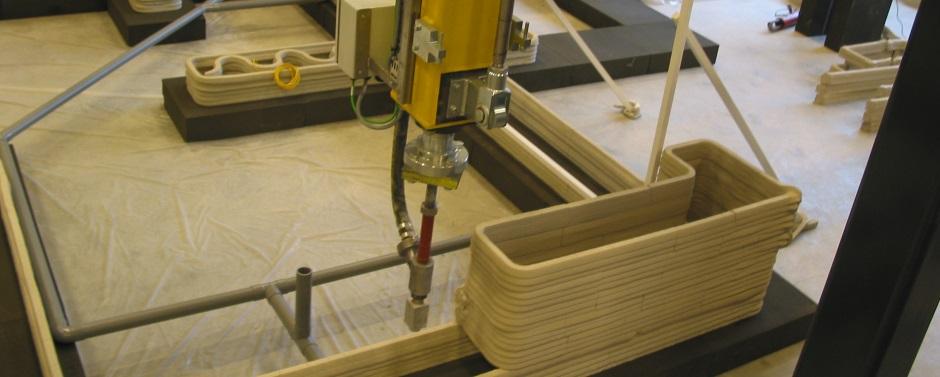 3D-betonprinter TUE