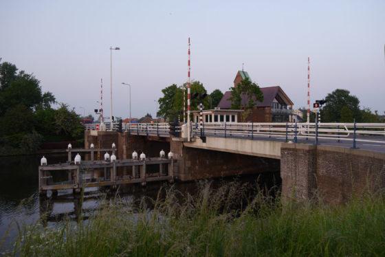 Nieuwe brug Ouderkerk aan de Amstel
