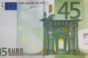 45 euro