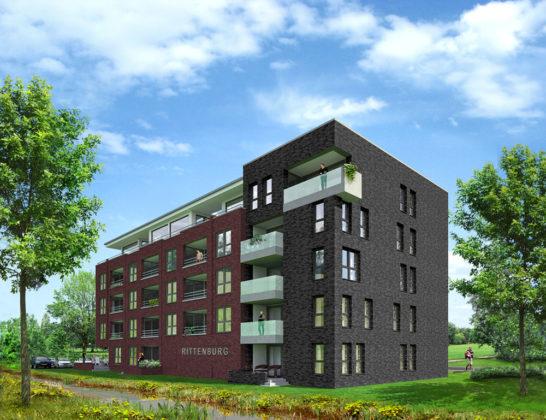 Hof Rittenburg, nieuwe wijk in Middelburg