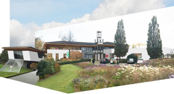 Ex-gemeentehuis Rijnsaterwoude wordt nieuw dorpshart
