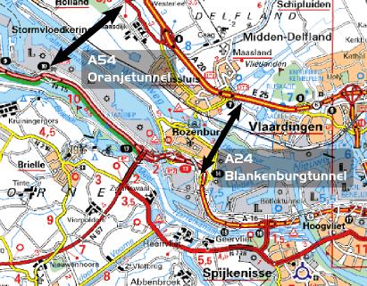 Regio Rotterdam verdeeld over nieuwe westelijke tunnel