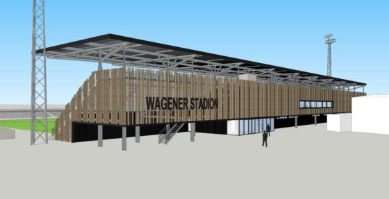 Nieuwe hoofdtribune voor hockeystadion Amstelveen