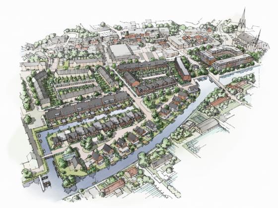 Poeldijk Dorp: nieuwe wijk aan het water
