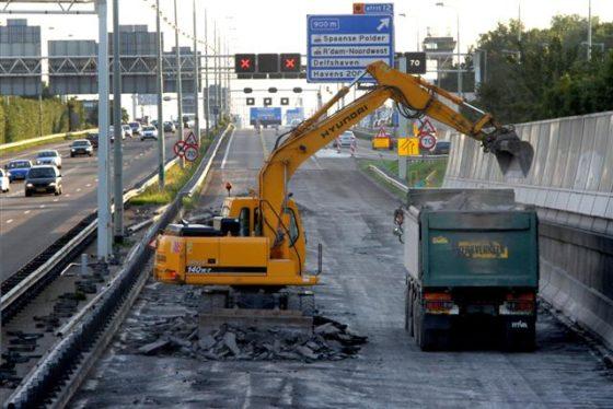 Werkvoorraad bouw stijgt licht in januari