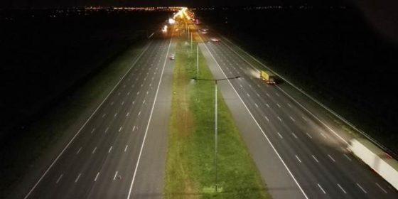 A2 breedste led-snelweg ter wereld