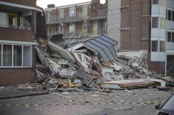 Appartementen Drachten ingestort