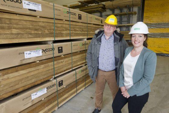 Fabriek Accoya verdubbelt capaciteit